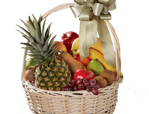 Show Your Sympathy With A Sympathy Fruit Basket